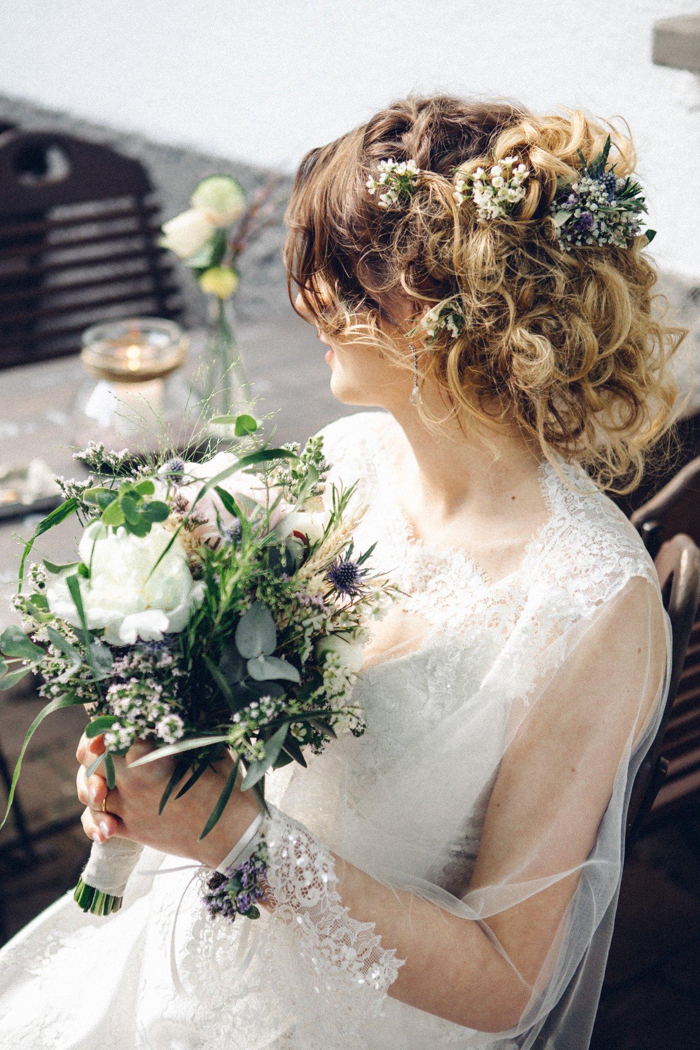 Natürliche Brautsträuße